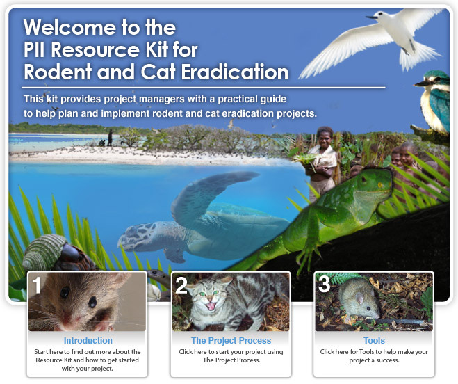 Welcome to the PII Resource Kit for Rodent and Cat Eradication